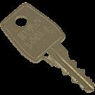 Eurolocks sleutel 46000 serie