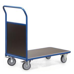 Magazijnwagen met 1 kopwand van hout serie F300