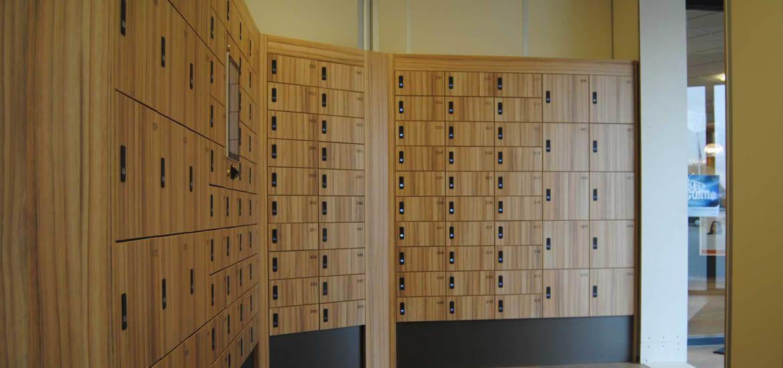 Apotheek lockers & kluisjes